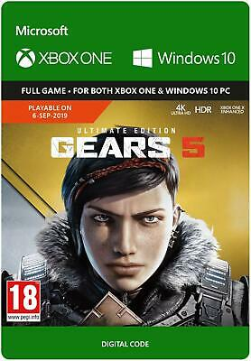 GEARS 5 Ultimate Edition Collection 1 2 3 4 - Digital Code (Microsoft Xbox One)