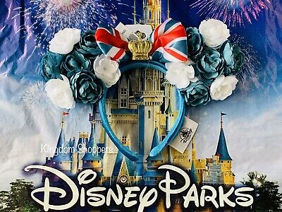 2020 Disney Parks Epcot United Kingdom UK Minnie Ears Royal Crown