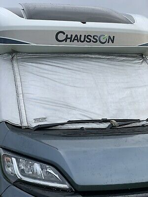 Genuine Paragon Silver Screens to fit Fiat Ducato/Peugoet Boxer/Citroen Relay