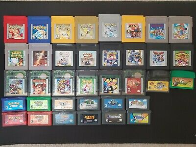 Huge 36 Game Game Boy / Game Boy Color / Game Boy Advance Lot (See All Photos)