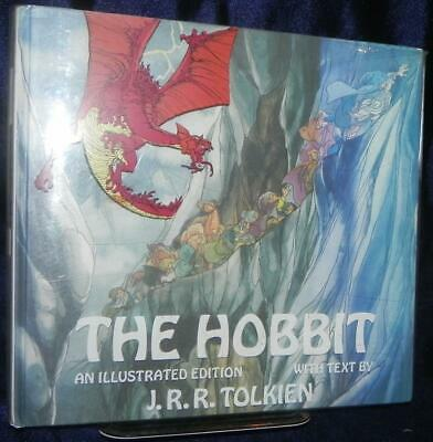The Hobbit J.R.R. Tolkien 1977 1st Ed with Dust Jacket ill by Rankin/Bass