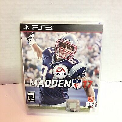 Madden NFL 17 (Sony PlayStation 3 PS3) Compelte
