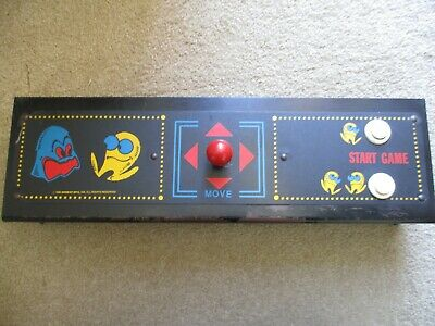 """Midway ((Pac Man)) """"Original"""" Arcade Video Control Panel...awesome...no Reserve"""