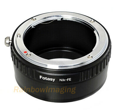 Nikon F Mount Lens to Sony E-Mount Camera Adapter a6500 a6000 a5000 a6300 a6600