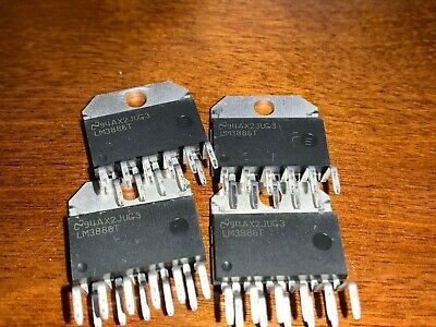 4 pieces    lm3886  IC  LM3886T