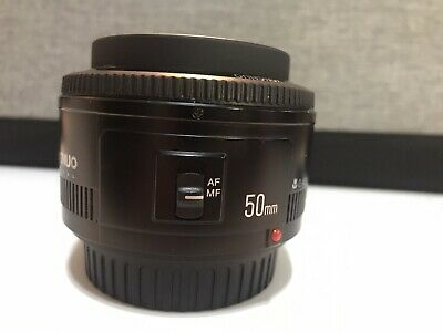Yongnuo 50mm f1.8 Lens 50/1.8 Fits Canon EF. Very Good Condition. Barely Used.