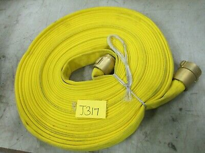 "Fire Hose 240-98-353 1-1/2"" NH Connection 75' (New)"