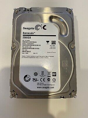 "Seagate Barracuda 2 TB Internal 7200 RPM 3.5"" Hard Drive -ST2000DM001 HDD (Hard"