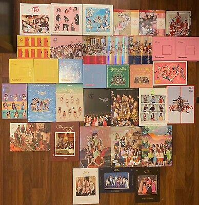 (Opened/No Pc Or Goods) Twice Albums (Read Description)