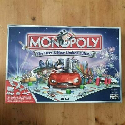 Monopoly Here /& Now Limited 2005 Game Replacement Spare Instructions Rules BG143