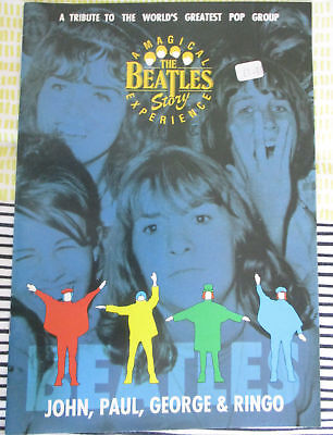 The Beatles Story Magical Experience Liverpool Brochure 1993  pre-owned