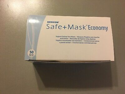 400 PCS SAFE MASK 3 Layer Medical Surgical Disposable Face Mask FAST SHIPPING