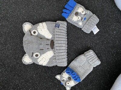 Joules Kids Hat And Glove Set 8-12