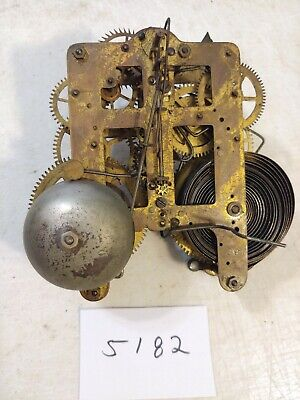Antique Seth Thomas  Mantle Clock  Movement 89C