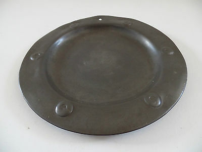 Archibald Knox Pewter Plate