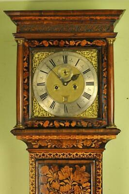 FINE MARQUETRY LONGCASE GRANDFATHER CLOCK - Christopher Gould , London