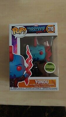 Funko Pop Marvel Eccc 2018 Exclusive Guardians Of The Galaxy Vol 2 Yondu #310