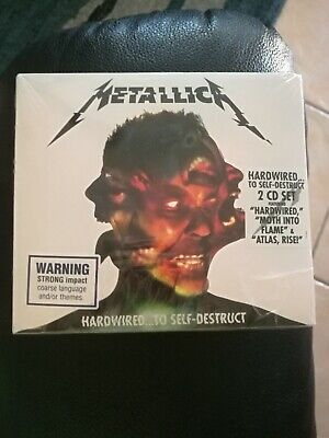 Hardwired...To Self-Destruct - Metallica CD, 2 Discs FREE Postage