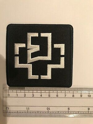 Rammstein Legend Of Rock Embroidered Iron On Patch New