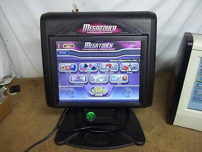 "Megatouch 2008 Force EVO Bartop Games 15"" Display FREE Tech Support WARRANTY!"