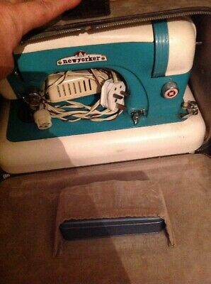 New-Yorker Electric Sewing Machine In Perfect Working Order