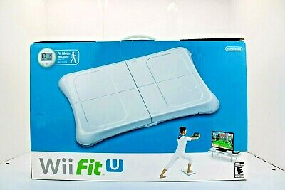 Nintendo WII FIT U  with Balance board and Fit Meter New in box Wii U NEW SEALED