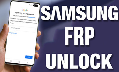INSTANT Google Account FRP Removal Bypass Samsung Galaxy S8 S9 S10 S10E Note 10