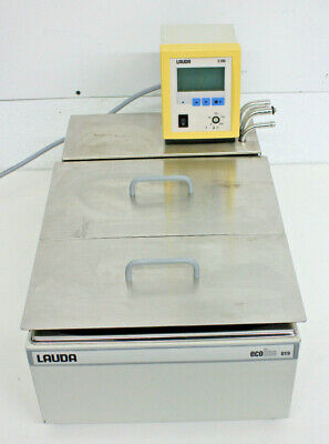Lauda E200 Heated Immersion Circulator w/ Ecoline 019 Water Bath