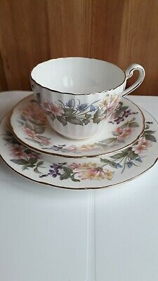 Paragon Fine Bone China Country Lane Trio Fluted Cup