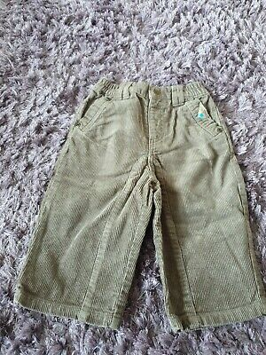 Boys 12 Month Vertbaudet Trousers cord