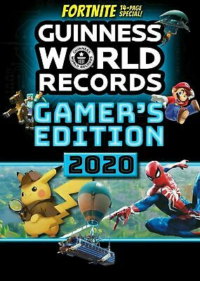 Guinness World Records Gamer's Edition 2020 Brand New Paperback Fortnite Special