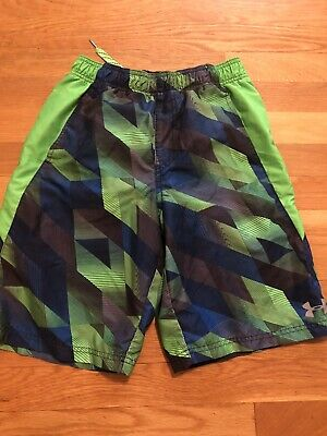 Under Armour Boys Large Youth Swimming Suit Trunks