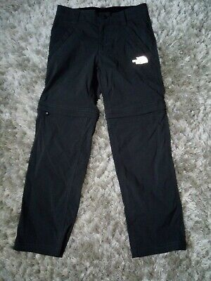 The North Face Boys Convertible Walking Trousers Size S Height 125-135 Cm