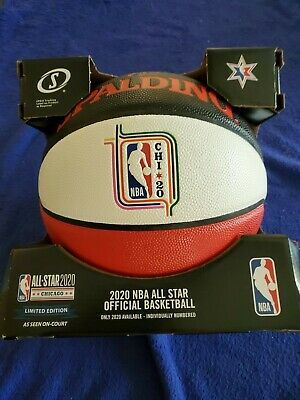 2020 NBA All-Star 3 Point Contest Spalding Leather Money Ball lakers lebron kobe