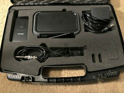 Shure PGX4 Wireless Receiver W/ PGX 1 Transmitter and WL184 Lavalier Microphone