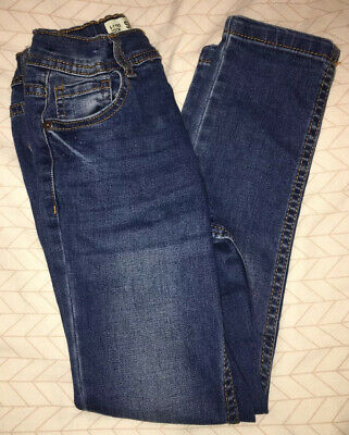 Boys Primark Dark Blue Skinny Jeans Age 6-7 Years Excellent Condition
