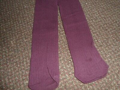 BNWOT Girls trendy ribbed Tights 3-4 YEARS from f+f