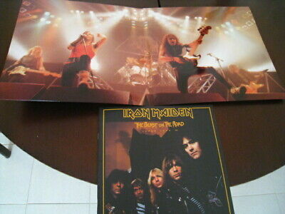 Iron Maiden - 3 Lp - Burn Tokyo To The Ground - Tokyo 1982 - Number Of The Beast