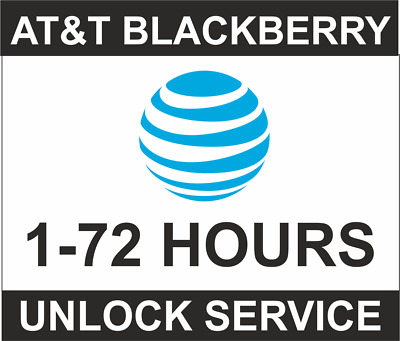 At&T Usa Blackberry Z10 Q10 Passport Priv Keyone Classic Q20 9800 Unlock Code