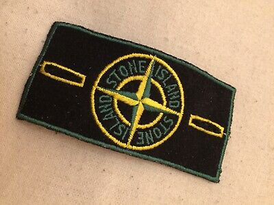 Vintage Stone Island Green Edge Badge Pre 2000's Osti
