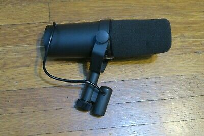 Shure SM7B Dynamic Wired Professional Vocal Cardioid Microphone EXCLNT Free Ship