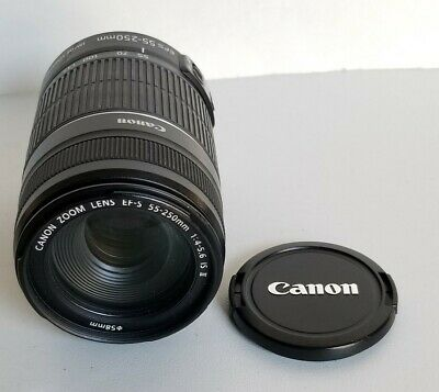 Canon EF-S 55-250mm F/4-5.6 IS II (Mark 2) Camera Lens