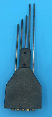 Antique Mantel Clock Westminster Chime Rods & Block 201/89