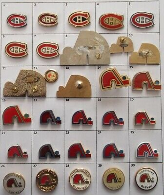 Different Teams (Montreal + Quebec) Nhl Hockey Logo Pin (Your Choice) # G861