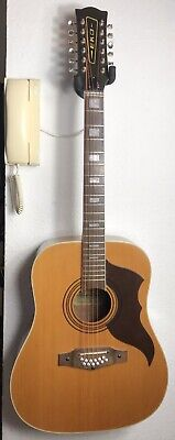 Eko ranger XII 12 string acoustic guitar vintage made in Italy 60's/70's