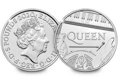 2020 UK Queen £5 Five Pound BU Brilliant Uncirculated Coin In Certified Pack.