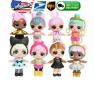 Doll Baby Tear Series Ornament for Childs  LOL Toy Surprise Gift 8 Figures/Set