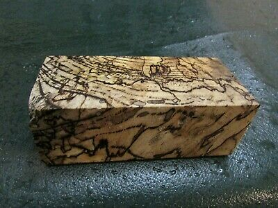 Spalted Hackberry Deluxe Knife Block/Scales/ Calls/ Pen Blanks--H---18
