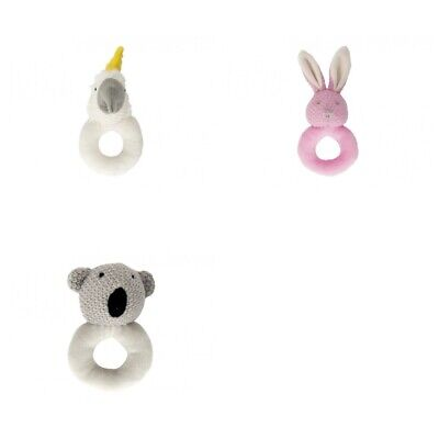 Annabel Trends Crochet Rattle Ring FREE POSTAGE