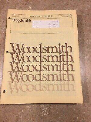 Woodsmith Woodworking Journals  Lot Of 17